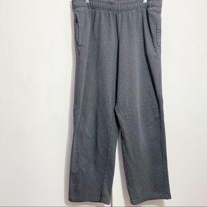 CHAMPION fleece exercise lounge pants pockets XL